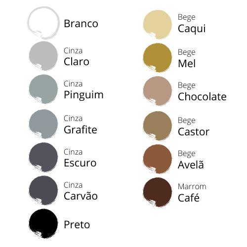 1 tabela cores